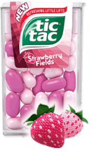 Strawberry Fields Tic Tac's 18g